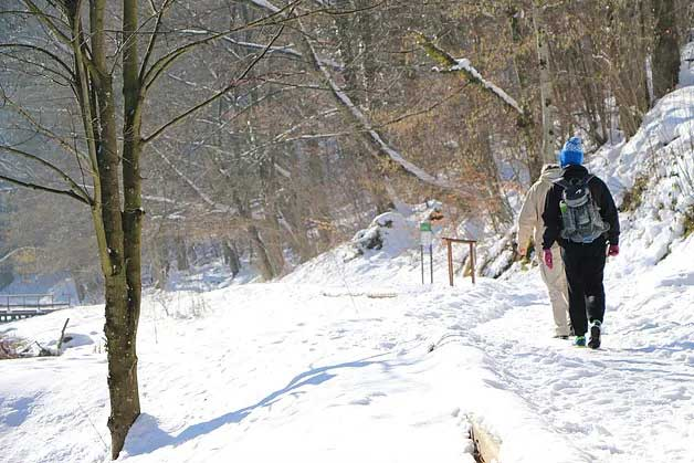 slavonia region of croatia hiking in papuk geopark