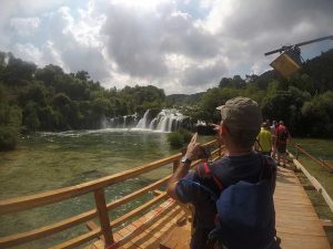 hiking in croatia krka national park