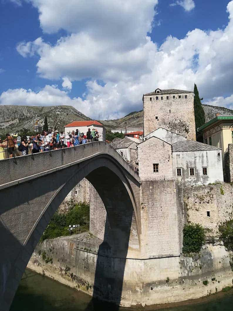 old bridge of mostar in bosnia and herzegovina