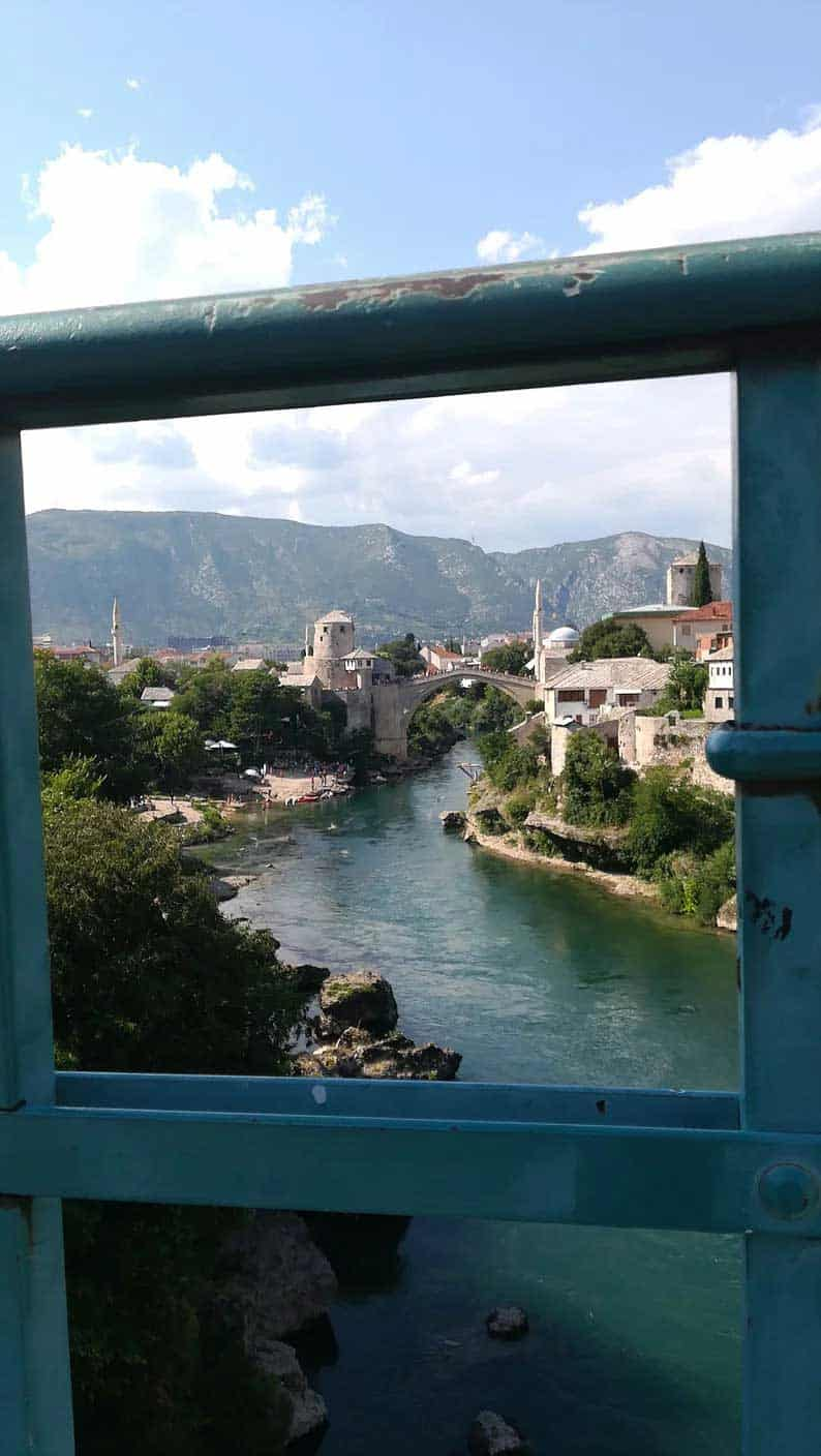 mostar bridge in bosnia and herzegovina