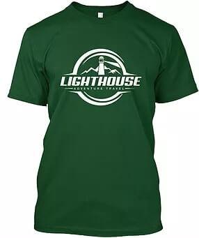 lighthouse adventure travel hoodie