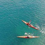sea kayaking dubrovnik croatia adriatic sea