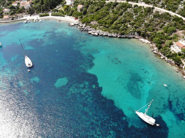 sailing croatia southern dalmatia adriatic sea