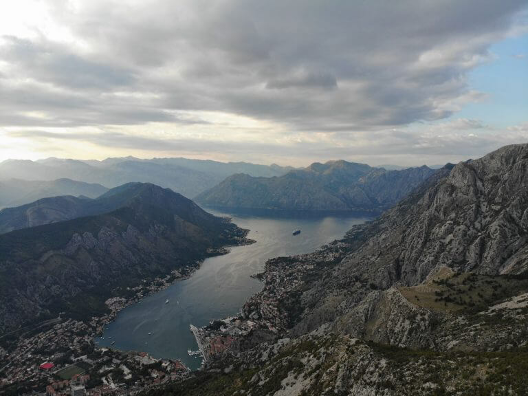 viewpoint bay of kotor lovcen national park