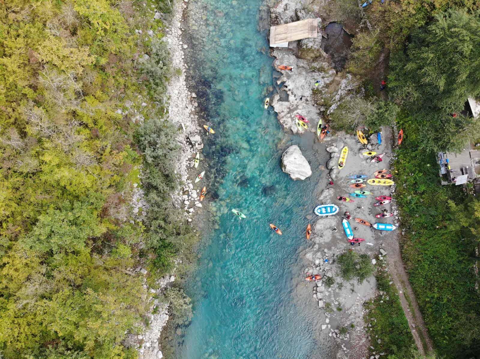 kayak festival tara river montenegro