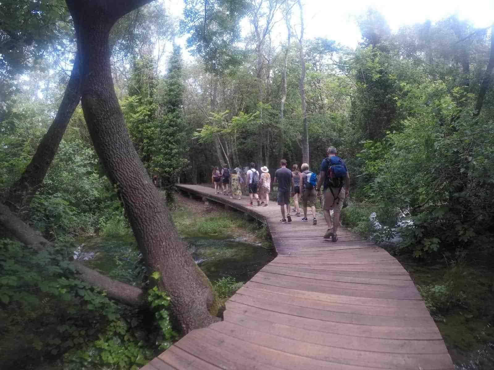 hiking krka national park croatia active holiday
