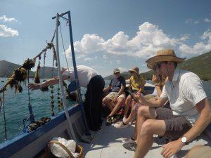 oyster tasting dubrovnik croatia adriatic sea