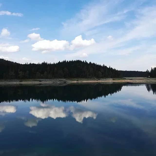 black lake in montenegro adventure travel