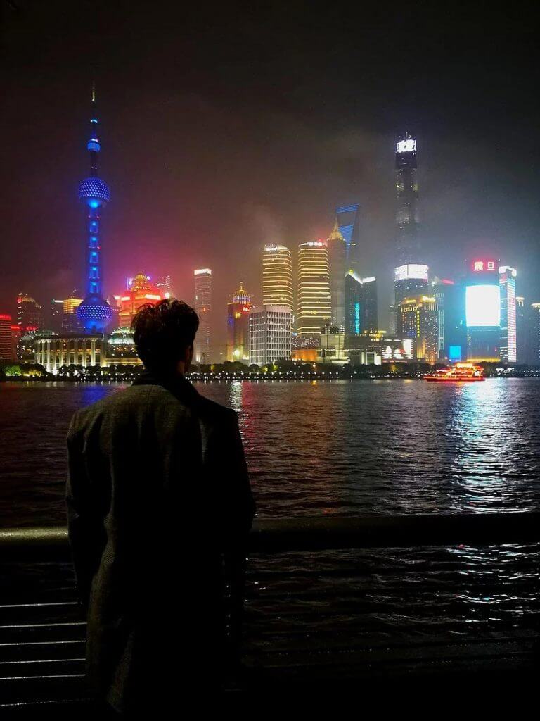 a view of shanghai during our campaign in china