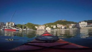 sea kayaking lopud island dubrovnik croatia