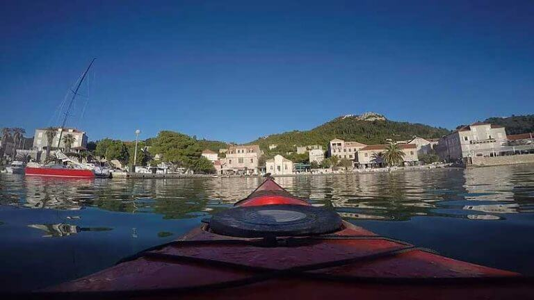sea kayaking lopud island dubrovnik croatia
