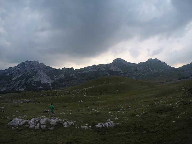 durmitor national park in montenegro