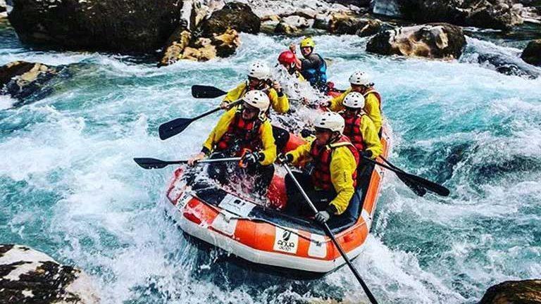 whitewater rafting on tara river in montenegro