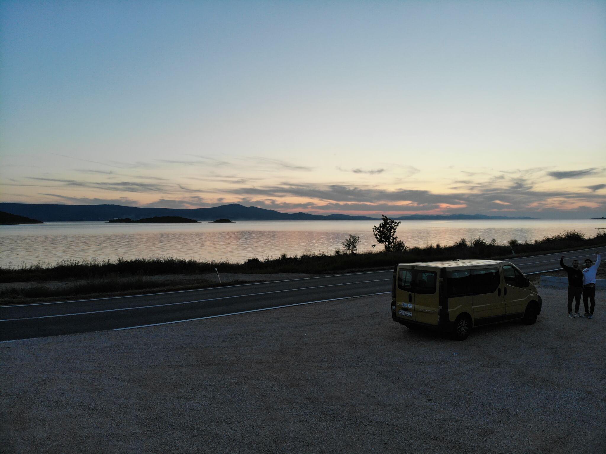 sunsets in Zadar