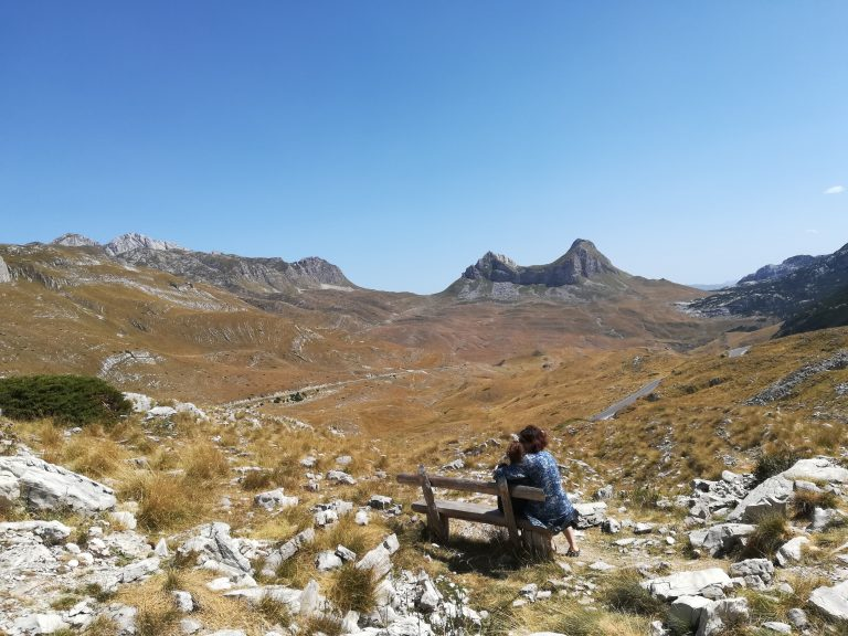 The view of Durmitor national park