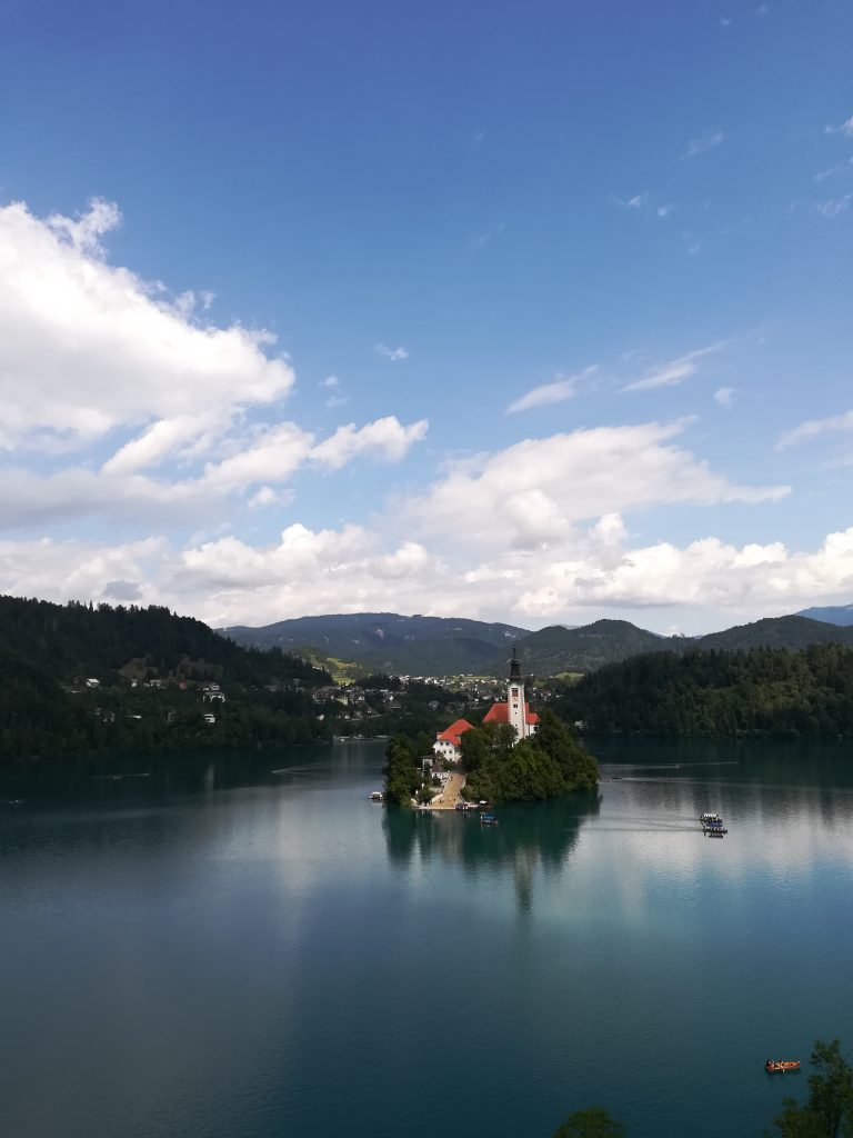 Bled lake, one of the most popular treasures of Slovenia
